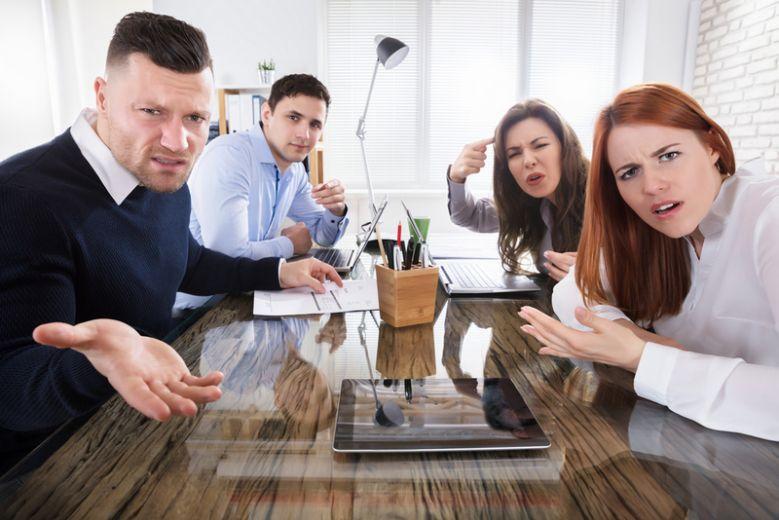 Mitarbeiter die nicht hören