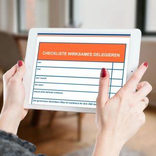 Checkliste wirksames delegieren